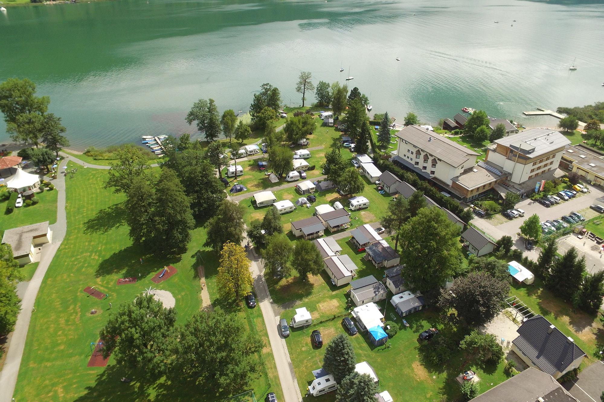 Mobilheime Ossiacher See : Camping am ossiacher see entdecke top campingplätze pincamp by adac
