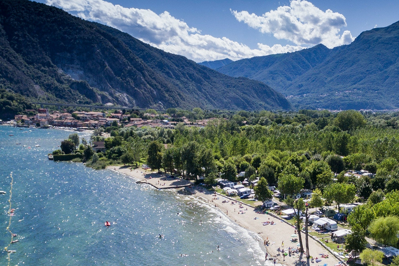 Lago Maggiore Karte Mit Orten.Die Besten Campingplätze Am Lago Maggiore Pincamp By Adac
