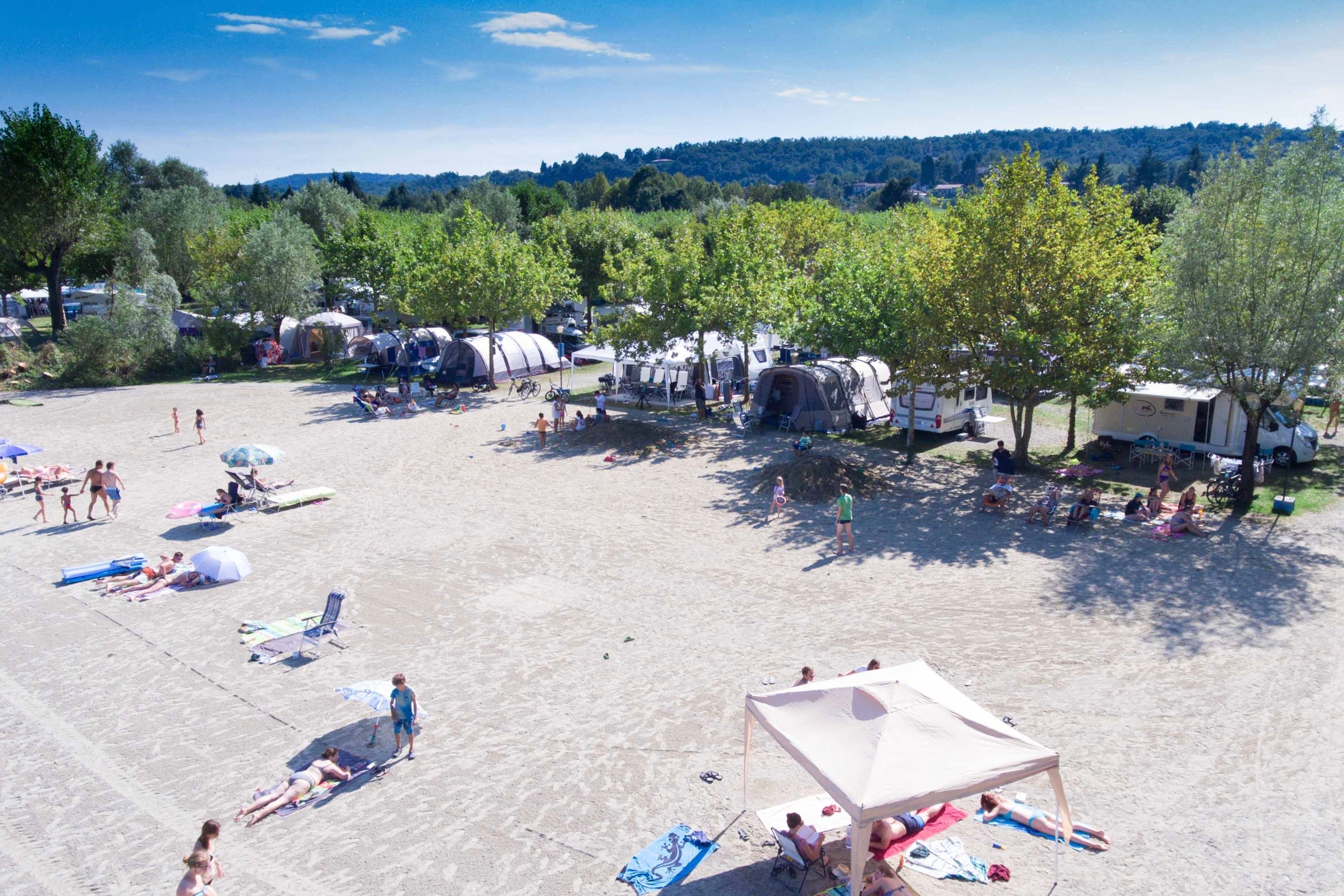 La Credenza San Maurizio Canavese Prezzi : Camping lago azzurro pincamp by adac