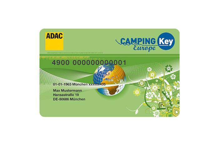Camping Karta Europa.Die Rabattkarte Fur Camper Camping Key Europe Pincamp By Adac