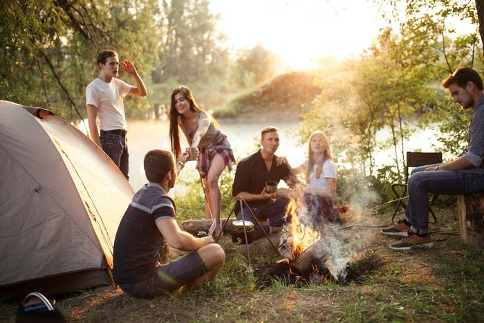 bodensee camping junge leute