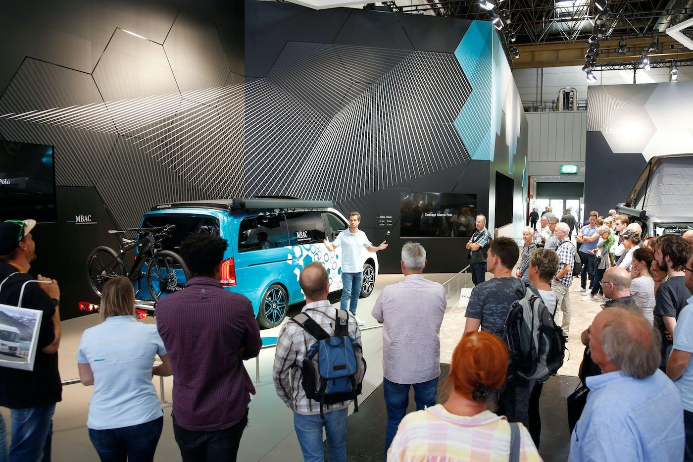 Caravan Salon 2019 in Düsseldorf   PiNCAMP by ADAC