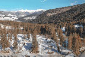 9 traumhaft schöne Wintercampingplätze in Italien