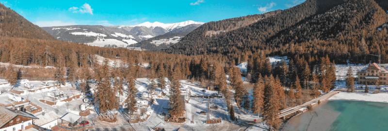 Italien im Wintercamping