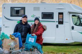 Nachhaltiges Camping –Wie ein Pärchen für saubere Campingrouten kämpft