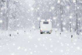 Wohnwagen und Wohnmobil winterfest machen