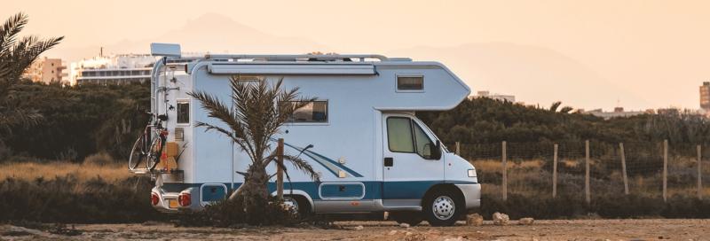 Wohnmobil in der Spanischen Natur