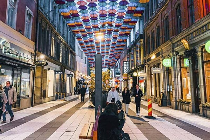 Drottninggattan in Stockholm