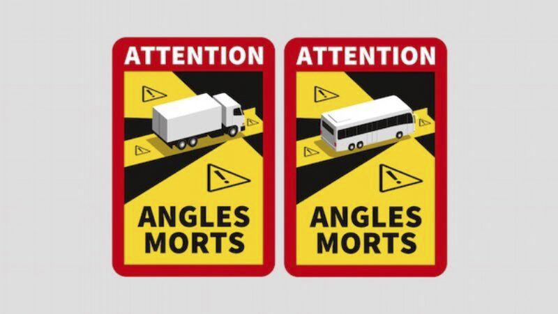 Angles Morts Sticker für Frankreich.