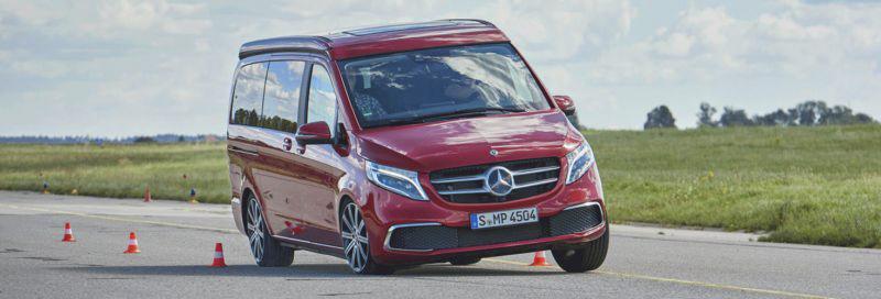 Der neue Mercedes Marco Polo im ADAC Test
