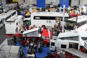 Reisemobile, wohin das Auge reicht: Die caravan-Messe 2020 in Freiburg
