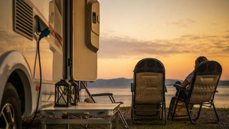 Sonnenuntergang auf der Insel Pag