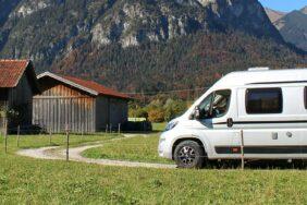 Bayern mit dem Wohnmobil: Die Alpen immer im Blick