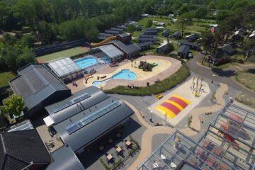 Luftaufnahme von Camping de Molenhof
