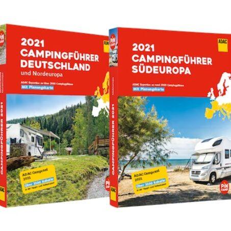 Die ADAC Campingführer 2021.