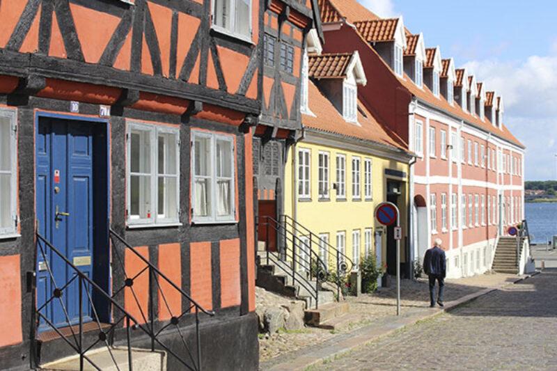 Die Altstadt von Middelfart