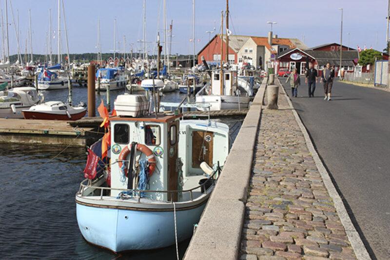 Hafenanlage von Faaborg