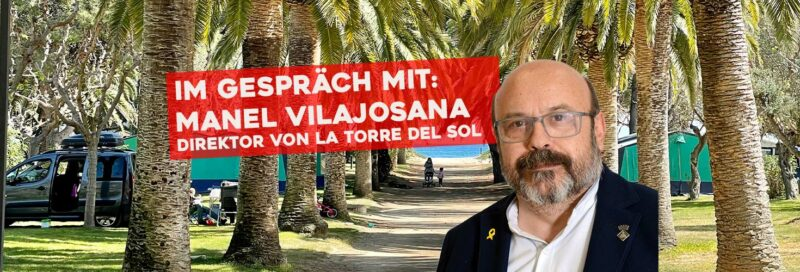 Manel Vilajosana, Direktor von La Torre del Sol im Gespräch