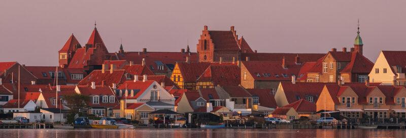 Skyline von Fünen Dänemark