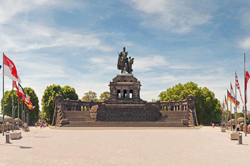 Denkmal in Koblenz für Kaiser Wilhelm I.