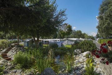 Camping Ötztal Längenfeld Wohnwagen und Zeltstellplatz