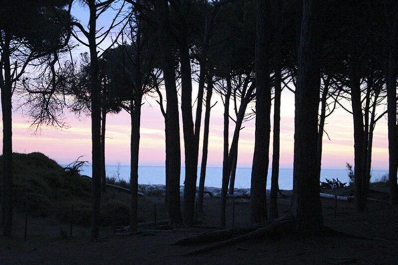 Sonnenuntergang bei Marina di Cecina