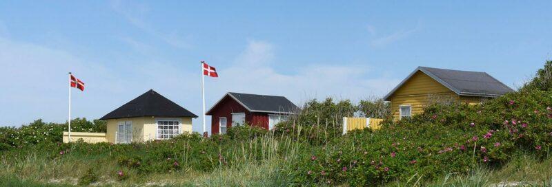 Strandhütten an der Dänischen Südsee