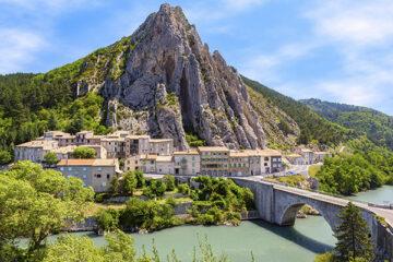 Sistron in der Französischen Provence