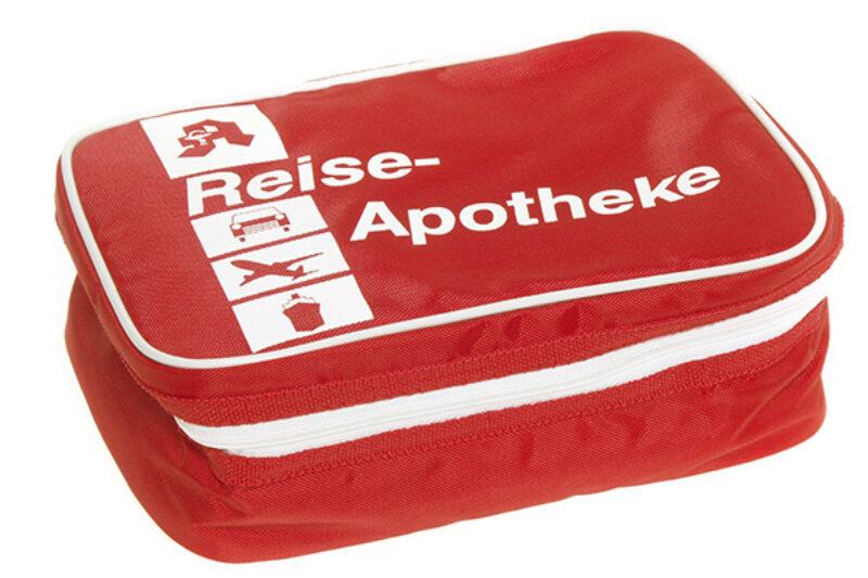 Bild einer Reiseapotheke/Verbandskasten
