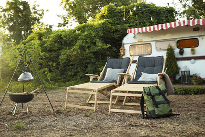 Camping Liegen