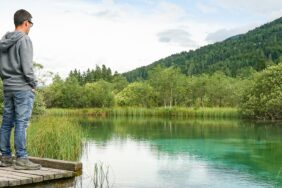 Wasserfälle in Triglav, Sightseeing in Llubljana: Wohnmobil-Roadtrip durch Slowenien