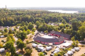 Eurocamp Spreewaldtor mit neuem Wellnessbereich und Schwimmbad
