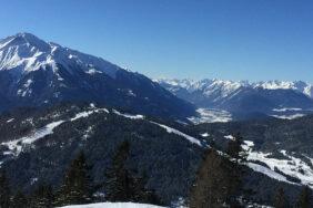 Wintercamping in der Olympiaregion Seefeld