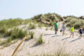 Camping am Meer in Holland