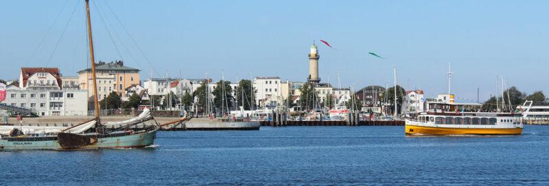 Der Hafen von Warnemünde