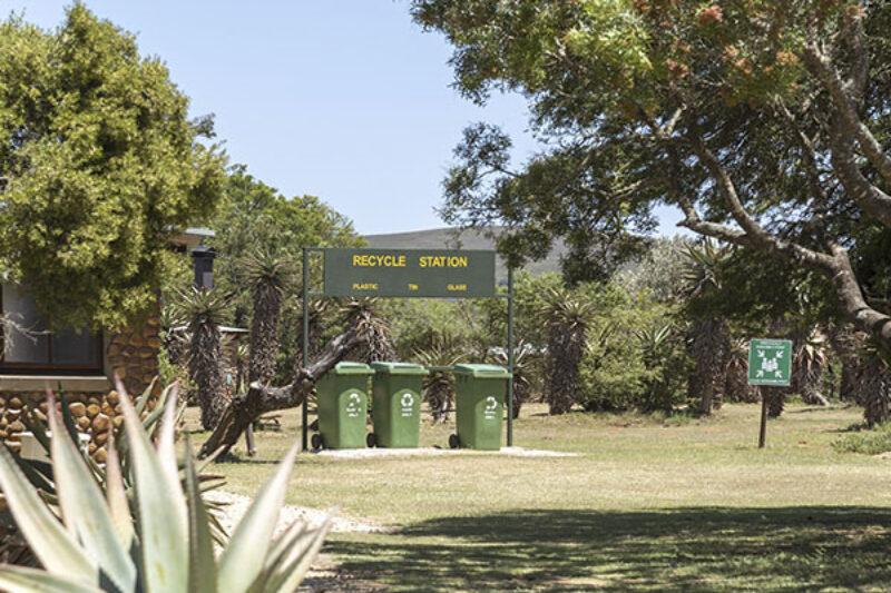 Auch beim Camping gilt Mülltrennung