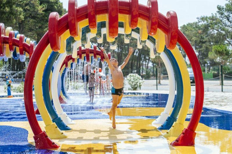 Wasserspielplatz im Zaton Holiday Resort
