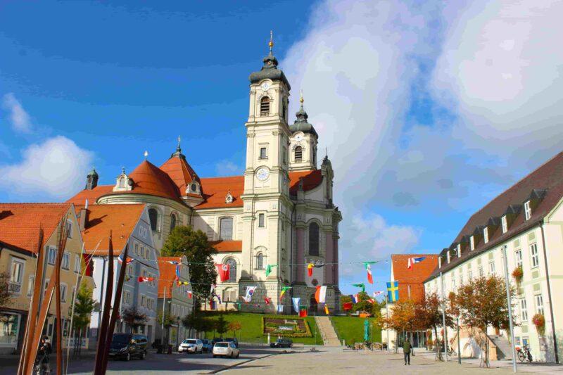 Das Benediktinerkloster in Ottobeuren