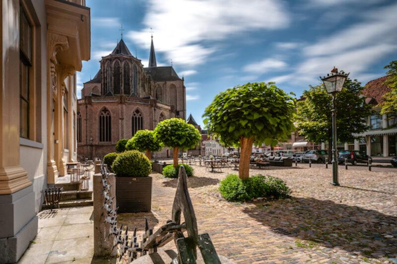 Die Gothikkirche in der Altstadt von Kampen