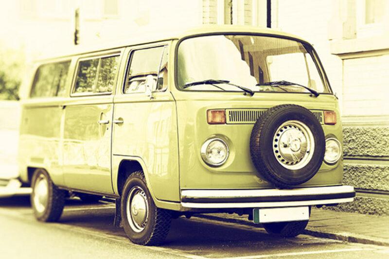 Historischer VW-Camping Bus