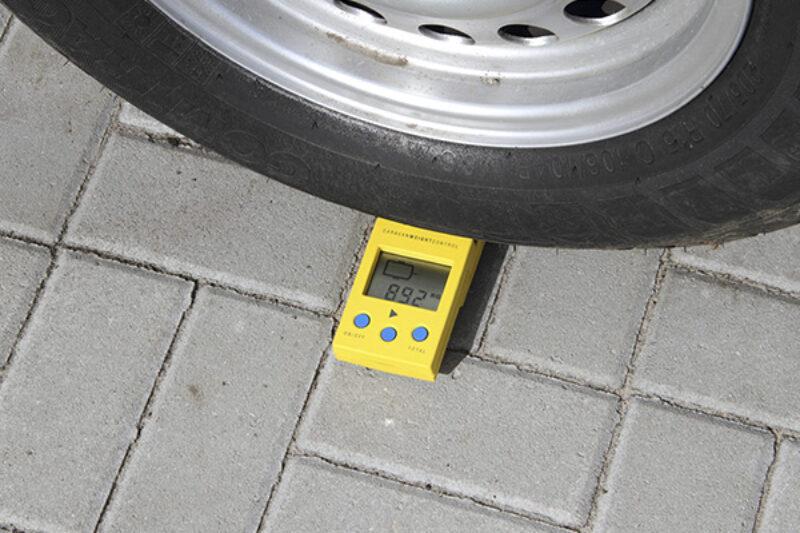 Messung der Radlast