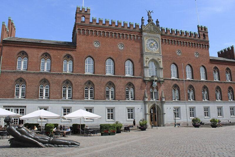 Das Rathaus von Odense