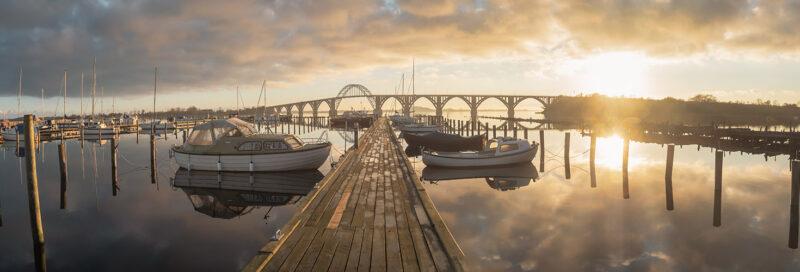 Königen-Alexandrine Brücke in Dänemark