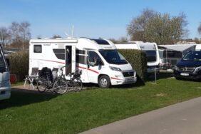 Camping im Tourismus-Modellprojekt Schleswig-Holstein