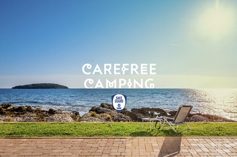 Carefree Camping im Camping Park Umag