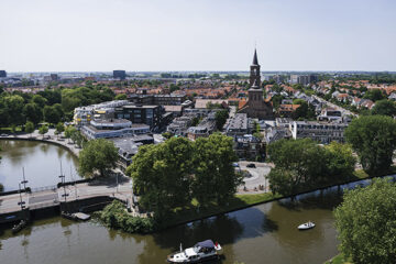 Panoramablick über Leeuwarden