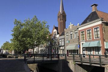 Kanal in Bolsward