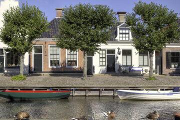 Traditionelle Häuser in Sloten