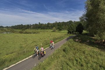 Radfahrer im Saarland