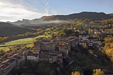Santa Pau in der Region la Garrotxa
